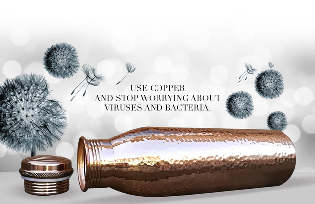 Benefits of Drinking Water from Copper Bottles